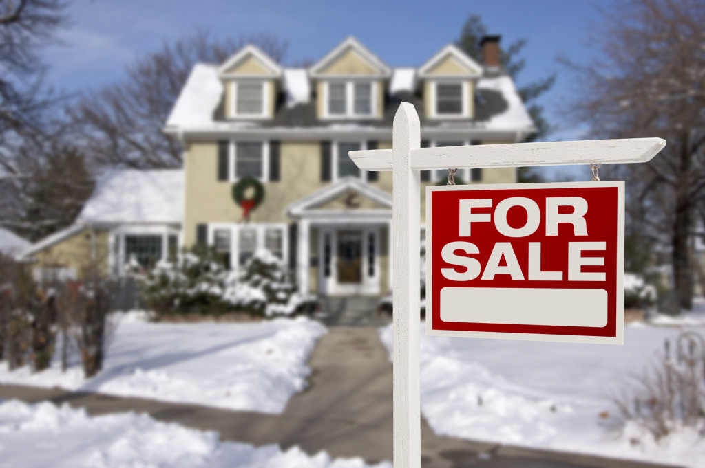 sell a house in winter