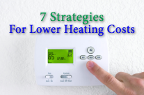 7 Strategies For Lower Heating Costs This Winter