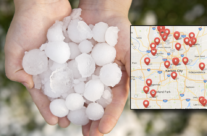Clay County Hail Storm November 2016 – 4 Steps To Take If You Live Here