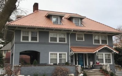 A Metal Tile Roof Crafted To Fit Kansas City's Style Without The Extra Weight