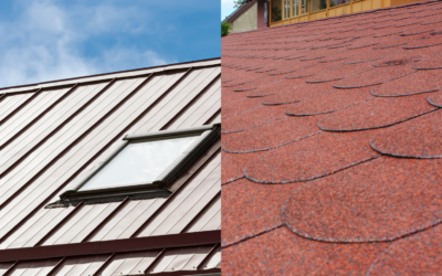 Comparing and Contrasting Metal Panels and Asphalt Shingles for a Residential Roof in Parkville